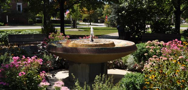 Campfire Girls Fountain